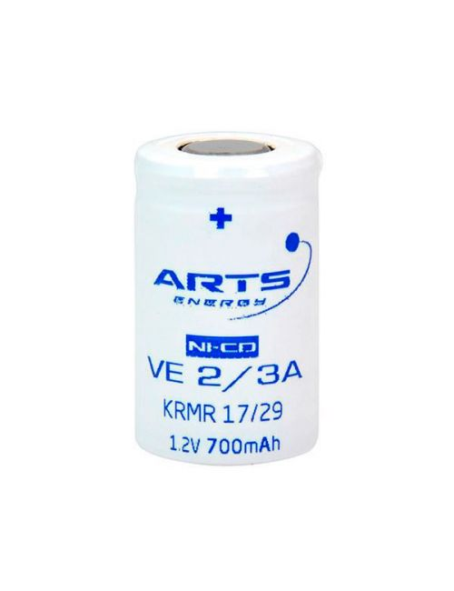 Batería 2/3A 1,2V 700mAh Ni-Cd ARTS Energy serie VE