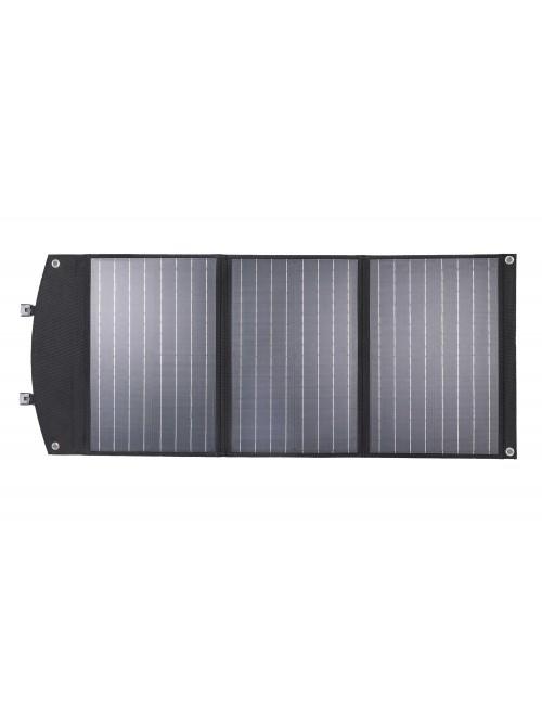 Panel solar cargador 90W plegable y portátil para cargar móviles, tablets, GPS (USB) y estaciones de energía portátiles