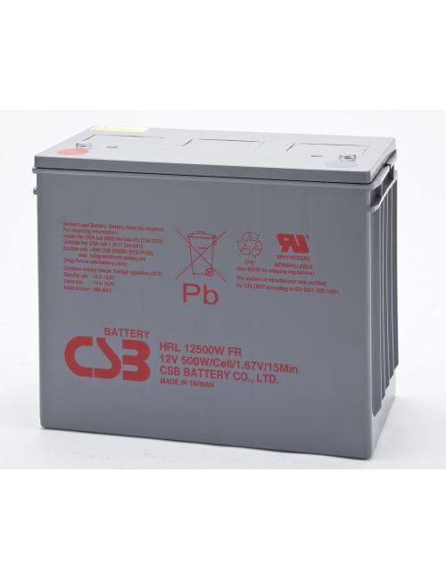 BATERIA PLOMO AGM 12V 500W/CELL CSB SERIE HRL