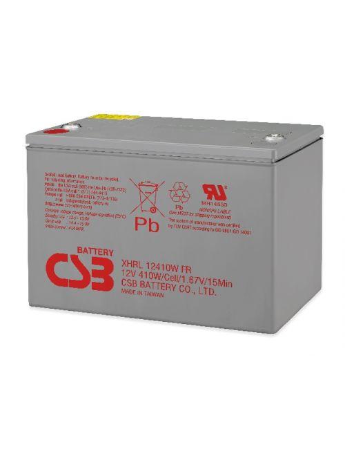 BATERIA PLOMO AGM 12V 410W/CELL CSB SERIE XHRL