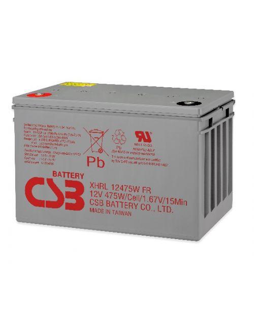 BATERIA PLOMO AGM 12V 475W/CELL CSB SERIE XHRL