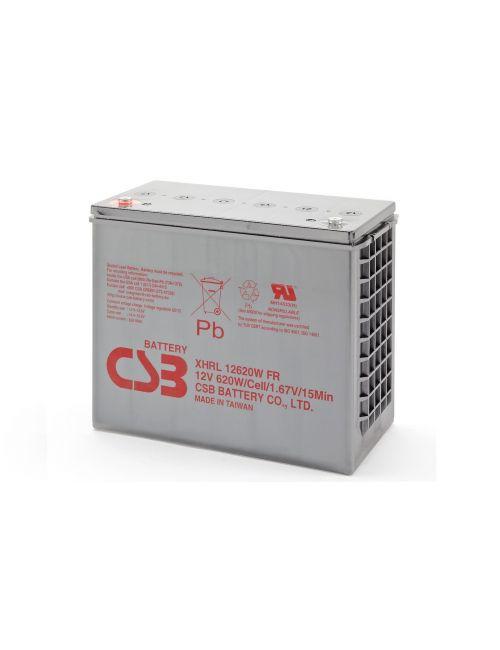 BATERIA PLOMO AGM 12V 620W/CELL CSB SERIE XHRL