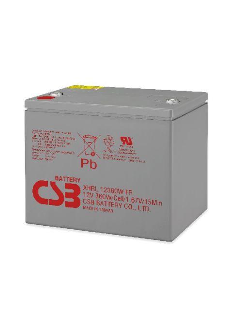 BATERIA PLOMO AGM 12V 360W/CELL CSB SERIE XHRL