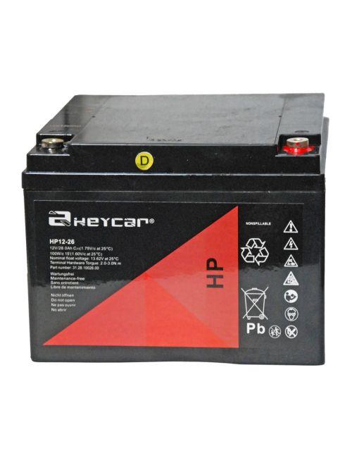 Batería 12V 26Ah Heycar HP12-26